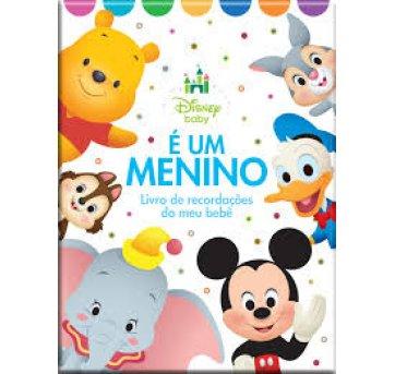 Álbum Livro Recordações Meu Bebê Menino Disney Bicho Esperto