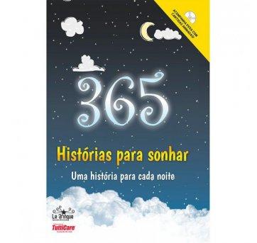 Livro 365 Histórias Para Sonhar Com DVD Rideel