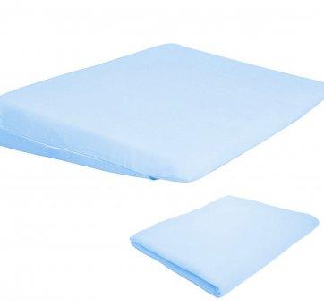 Travesseiro Antirrefluxo Berço 2 Fronhas Azul Papi 3950