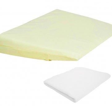 Travesseiro Antirrefluxo Berço 2 Fronhas Amarelo Papi 3950