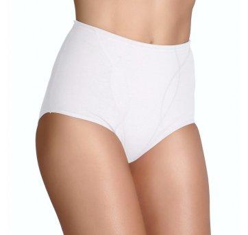 Calcinha Cinta Modeladora Boxer Branco Tam M Love Secret 82300