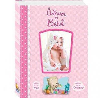 Diário Álbum Recordações Do Bebê Rosa Todolivro