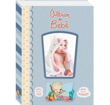 Diário Álbum Recordações Do Bebê Azul Todolivro