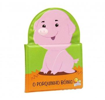 Livro De Banho O Porquinho Boíng Todolivro 1120905