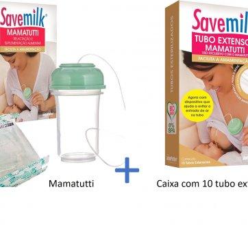 MamaTutti Relactação e Suplementação Alimentar Savemilk  10 tubos