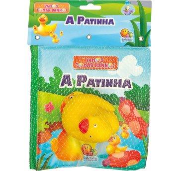 Livro De Banho Com Brinquedo A Patinha Todolivro