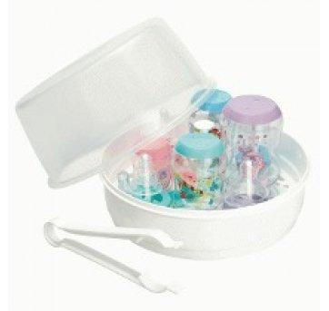 Esterilizador de Mamadeira Para Microondas Branco Milla Baby 102002