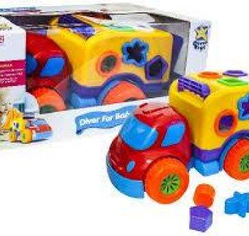 Carrinho de brinquedo educativo