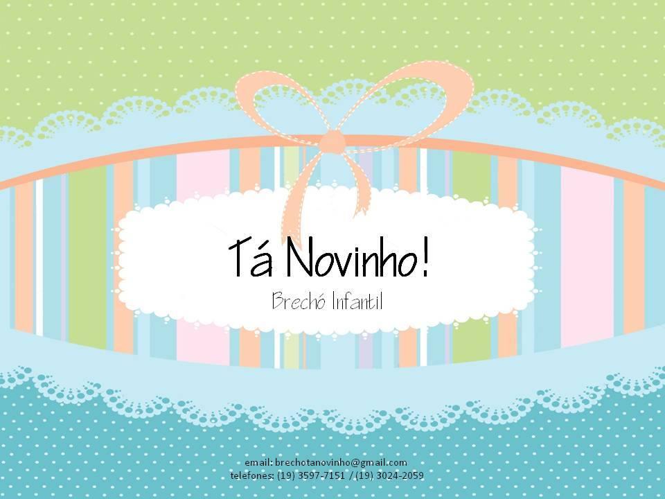 Tá Novinho Brechó Infantil